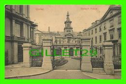 QUEBEC CITY - BISHOP'S PALACE - TRAVEL IN 1914 - MONTREAL IMPORT CO - - Québec - La Cité