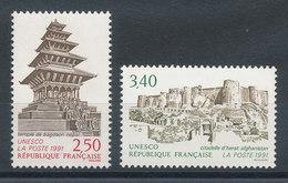 108 & 109** UNESCO 1991 - Neufs