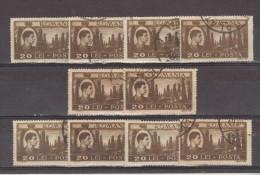 1947 - Roi Michel / Activites Nationales Yv No 984  Et Mi 1075   LOT X 10 - Gebraucht