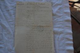 PROCES VEBAUX DE MUTATION COMPTABLE DU CUIRASSE FRIEDLAND EN 1882 - Documents