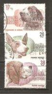 España/Spain - Edifil  2711/14  - Yvert  2328/31 (usado) (o) - 1931-Hoy: 2ª República - ... Juan Carlos I