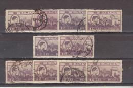 1947 - Roi Michel / Activites Nationales Yv No 982  Et Mi 1073   LOT X 10 - Gebraucht