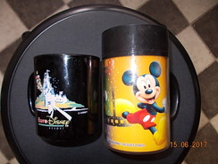 *1 CHOPE A BOISSON  MICKEY  Disneyland Paris + *1TASSE A  BOISSON  Euro Disney  Resort  Mc DONALD'S - Tasses