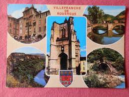 Dep 12 , Cpm VILLEFRANCHE De ROUERGUE , Multivues , 12200.S.413  (1131) - Villefranche De Rouergue