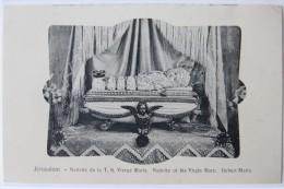 Jérusalem (Israël), Nativité De La Très Sainte Vierge Marie, Carte Postale Ancienne. - Israele