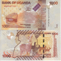 UGANDA AFRICA BANCONOTA 1000 1.000 SHILLINGS 2010 FDS UNC - Uganda
