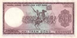VIETNAM SOUTH P. 20b 200 D 1966 UNC - Vietnam