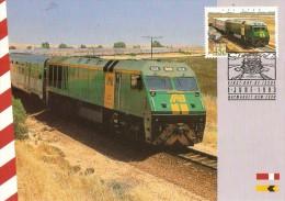 Australia 1993 Trains The Ghan - Maximum Cards
