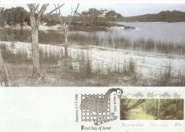 Australia 1993 World Heritage Sites, Fraser Island Qld - Maximum Cards