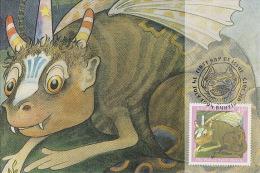 Australia 1994 Bunyips, The Nature Spirit - Maximum Cards