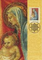 Australia 1994 Christmas 40c The Adoration Of The Magi Detail - Maximum Cards