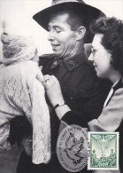 Australia 1995 50th Anniversary End WWII, Happy Homecoming, Maximum Card - Cartes-Maximum (CM)