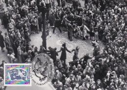 Australia 1995 50th Anniversary End WWII, Victory Celebration, Maximum Card - Maximum Cards