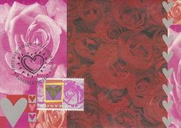Australia 1996 Hearth And Roses 45c - Maximum Cards