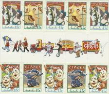 Australia 1997 Circuses - 1990-99 Elizabeth II
