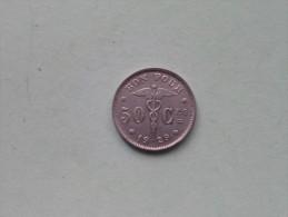 1929 FR - 50 CENT / Morin 416 ( For Grade, Please See Photo ) !! - 1909-1934: Albert I