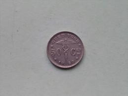 1930 VL - 50 CENT / Morin 418 ( For Grade, Please See Photo ) !! - 1909-1934: Albert I