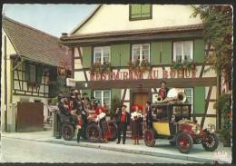 SOUFFLENHEIM Restaurant AU BOEUF Ensemble Musical Folclorique Brasserie Kronenbourg Brumath 1970 - Haguenau