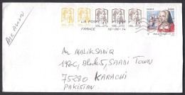 Anne De Bretagne, Postal History Cover From FRANCE 16.6.2014 - Storia Postale