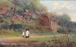 RURAL - MAMMIES GOING A MILKING - Farms