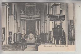 B 8920 LANGEMARK - POELKAPELLE, Binnenste Te Kerk, 1915, Deutsche Feldpost - Langemark-Poelkapelle