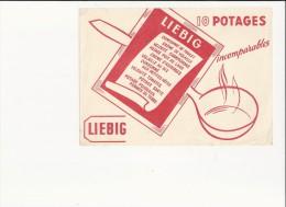 """Buvard - B1354 - """"Potages, Consommés Et Veloutés LIEBIG"""" - Sopas & Salsas"""