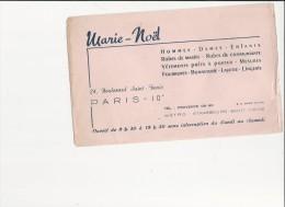 """Buvard - B1357 - Boutique """" Marie Noël""""  Paris - Blotters"""