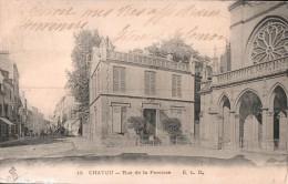 78 CHATOU RUE DE LA PAROISSE CIRCULEE 1912 - Chatou