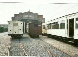 DE PANNE LA PANNE TRAM TRAMWAY A L ARRET  AU DEPOT DES TRAMS EN 2006 - Non Classés