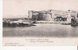 CHYPRE 13 LE CHATEAU DE CERINE 1917 - Chypre