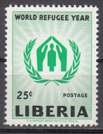 Liberia    Scott No   388    Unused Hinged   Year  1960 - Liberia