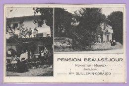 74 - MONNETIER -- Pension Beau Sejour - France