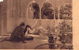 Salon 1904-e.l Weeks-un Jeu D'echec - Malerei & Gemälde