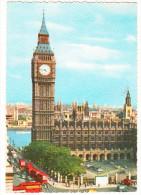 London: 7x AEC DOUBLE-DECKER BUS, VANS & CARS - Big Ben - England - Toerisme