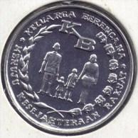 INDONESIA 5 RUPIAH  1974 FAO - Family Planning Program   UNC