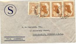 LBL26C - ARGENTINE LETTRE AVION  A DESTINATION DE PORT OF SPAIN NOVEMBRE 1937 - Argentine