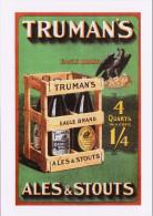 Poster Art Postcard Truman's Ales & Stouts Eagle Edwardian Image Beer - Pubblicitari
