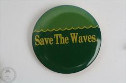 Save The Wales - Pin Badge  #PLS - Animales