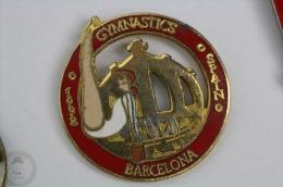Gymnastics Barcelona, Spain 1992 - Pin Badge  #PLS - Atletismo