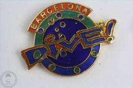 Barcelona Dive! - Pin Badge  #PLS - Buceo
