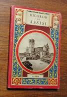 Ricordo Di Assisi 1900s ITALIAN ART Souvenir Book ALBUM SOUVENIR - Livres, BD, Revues