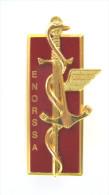 INSIGNE SERVICE DE SANTEE DES ARMEES ECOLE NATIONALE EORSSA / ENORSSA LIBOURNE ETAT EXCELLENT Y.DELSART