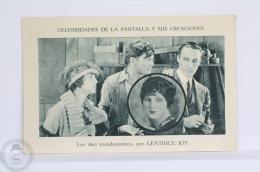 Old Trading Card/ Chromo Topic/ Theme Cinema/ Movie - Spanish Advertising  - Leatrice Joy Actress - Cromos