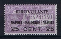 Italy:  1928  Sa AE  2, Mi 127 MNH/** - 1900-44 Victor Emmanuel III