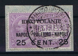 Italy:  1917  Sa A2  , Mi 127   Used - 1900-44 Victor Emmanuel III