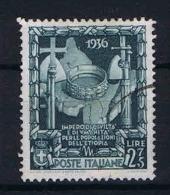 Italy:  1938  Sa 447  , Mi 612   Used - Usati