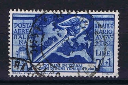 Italy:  1937  Sa A109  , Mi 589 Used - 1900-44 Vittorio Emanuele III