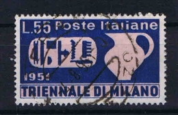 Italy:  1951  Sa 667  , Mi  840 Used - 1946-60: Gebraucht