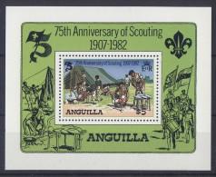 Anguilla - 1982 Scouts Block MNH__(TH-3674) - Anguilla (1968-...)