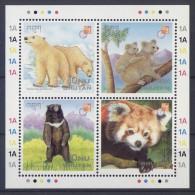 Bhutan - 1997 Mammals Kleinbogen MNH__(TH-4008) - Bhoutan